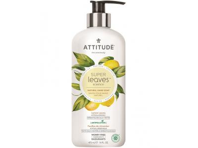 ATTITUDE Přírodní mýdlo na ruce Super leaves - citrusové listy 473 ml