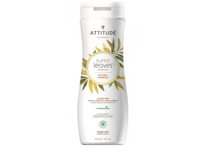 ATTITUDE Přírodní šampón Super leaves - rozjasňující pro normální a mastné vlasy 473 ml