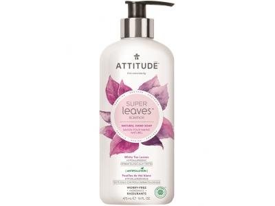 ATTITUDE Přírodní mýdlo na ruce Super leaves - čajové listy 473 ml