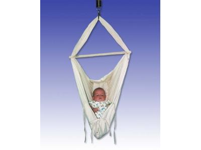 Babyvak Hacka - závěsná textilní kolébka (různé barvy)