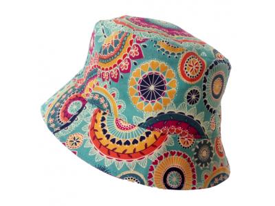 MAMA ROSA Letní plátěný klobouček - Oshun