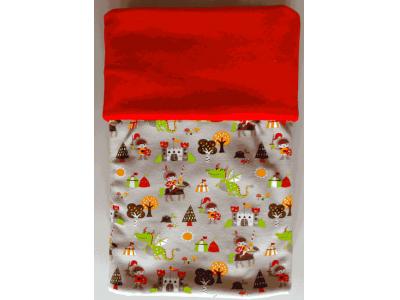 MAMA ROSA Dětská deka 70 x 100 cm - Rytíři a draci