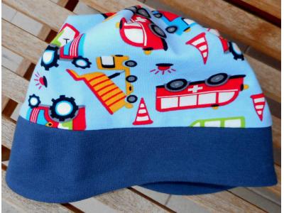 Mama Rosa Dětská čepice - auta