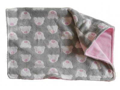MAMA ROSA Dětská deka mazlivá 80x100 cm - Medvídci