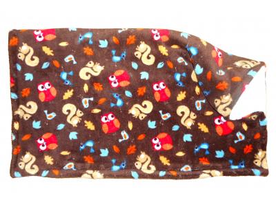 MAMA ROSA Dětská deka mazlivá 80x90 cm - Lesní zvířátka
