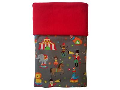 MAMA ROSA Dětská deka 70 x 100 cm - Cirkus