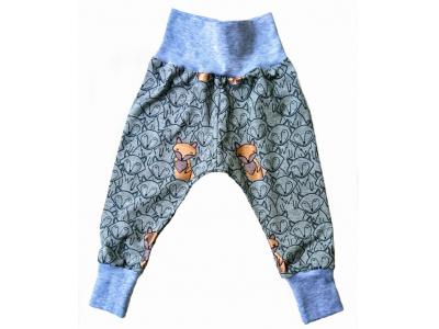 Mama Rosa Dětské kalhoty - měděná liška