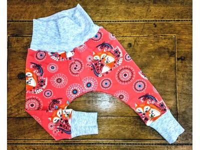 Mama Rosa Dětské kalhoty - Máma liška lososová