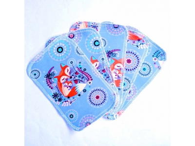 Mama Rosa Mycí ubrousky 5ks - Máma liška modrá