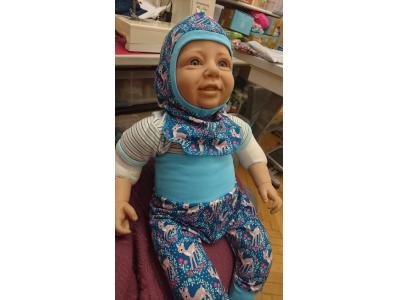 Mama Rosa Dětská čepice kukla - Srnečky
