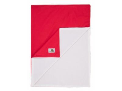 Bamboolik Přebalovací podložka 45 x 70 cm - Červená
