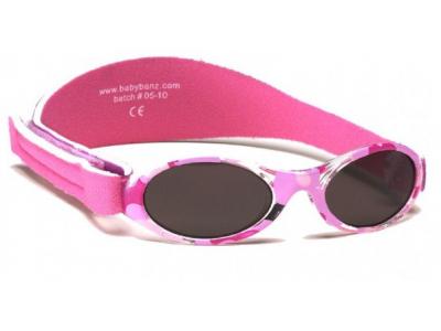 Baby Banz sluneční brýle 0-2 roky - růžové camo