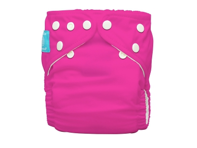 Charlie Banana Rostoucí kapsová plena AIO - Hot Pink