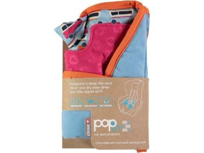 Pop-in chránič autosedačky Campervan Blue