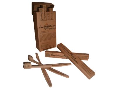 Curanatura Bamboo zubní kartáček - pro dospělé