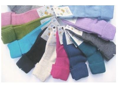 Diba Vlněné dětské ponožky - vel. 0 (0-6m)