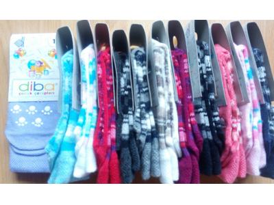 Diba Protiskluzové dětské ponožky (tenké) - vel. 1 (6-9m)
