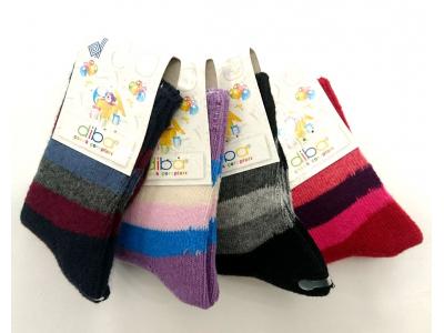 Diba Silnější bavlněné dětské ponožky LUX - vel. 1 (6-12m)
