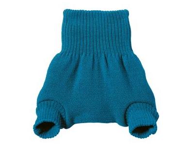 Disana Vlněné svrchní kalhotky - modré