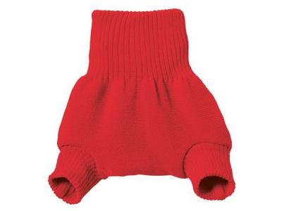 Disana Vlněné svrchní kalhotky - červené