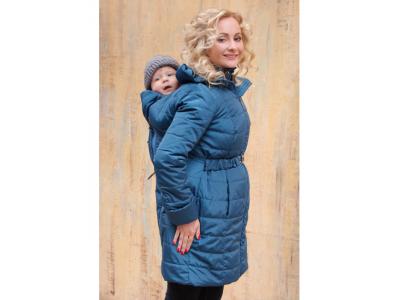 Diva Milano zimní nosící kabát (high warm) 4v1 - Azzurro
