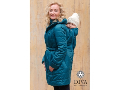 Diva Milano zimní nosící kabát (high warm) 4v1 - Mare