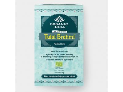 Tulsi Brahmi BIO - ajurvédský čaj, 25 sáčků
