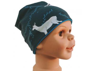 Eco Capart Dětská čepice MERINO - Zimní sny
