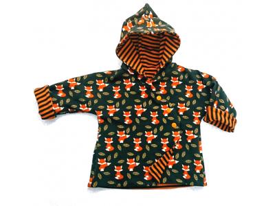 Eco Capart Kabátek z BIO bavlny - Lišky v listí