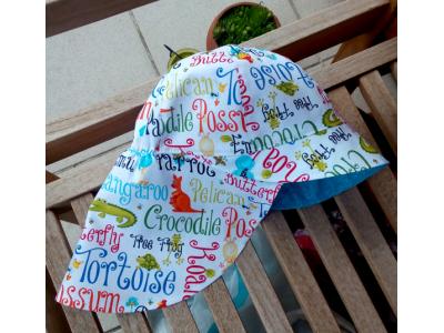 Eco Capart Legionářka dětská letní čepice - Cangaroo