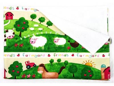 Eco Capart Přebalovací podložka PUL 50 x 70 cm - Naše farma