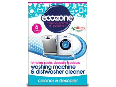 Ecozone Čistič pračky a myčky na nádobí - 6 dávek