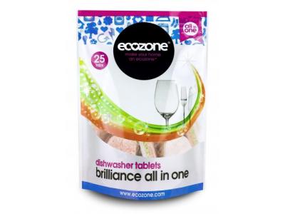 Ecozone Tablety do myčky vše v jednom - 25 tablet
