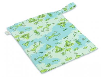 Ella´s House Wet bag pytel na pleny - Froggy