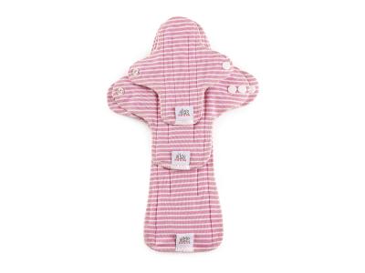 Ella´s House TRIAL SET Hygienické dámské vložky (3ks) - Stripes Pink