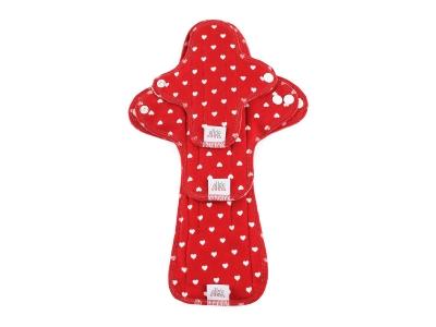 Ella´s House TRIAL SET Hygienické dámské vložky (3ks) - Hearts Red