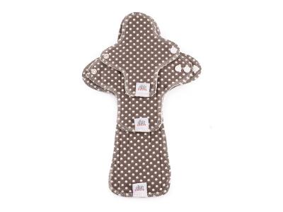 Ella´s House TRIAL SET Hygienické dámské vložky (3ks) - Dots Coffee