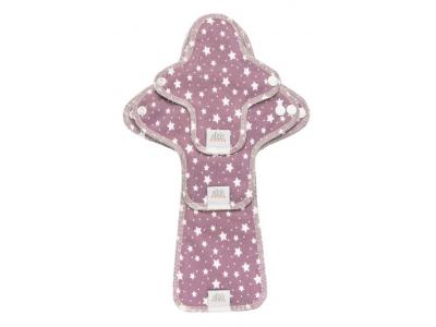 Ella´s House TRIAL SET Hygienické dámské vložky (3ks) - Lila Stars