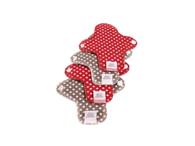 Ella´s House Hygienické dámské vložky (4ks) MINI - Dots