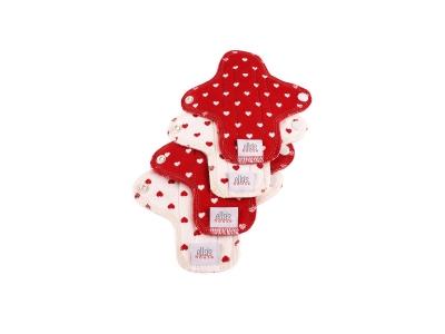 Ella´s House Hygienické dámské vložky (4ks) MINI - Hearts