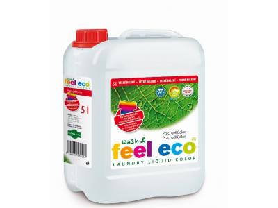 Feel Eco prací gel Color na barevné prádlo 5l