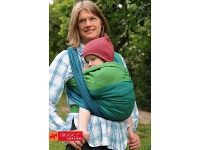 Girasol Laguna pevný šátek na nošení dětí - 4,6m
