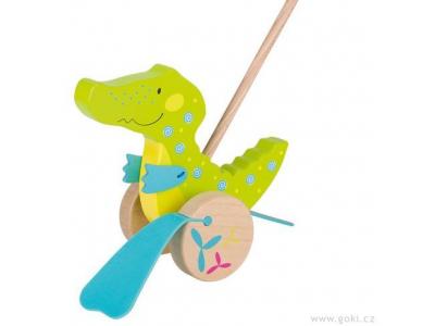 Goki Krokodýl Susibelle – zvířátko na tyči