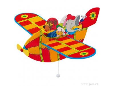 Goki Dřevěné létající letadlo