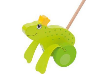Goki Žabí princ – zvířátko na tyči