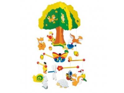 Goki Dřevěný závěsný kolotoč – Strom