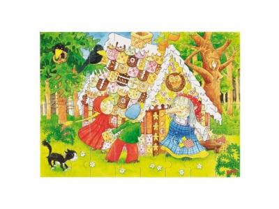 Goki Puzzle – Perníková chaloupka, 48 dílků