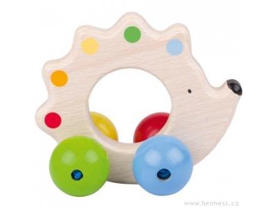 Heimess Ježek - dřevěná hračka pro miminka