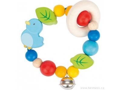 Heimess Elastická hračka pro miminka - Ptáček