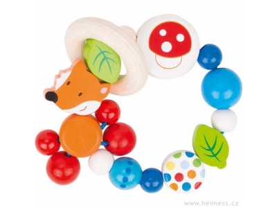 Heimess Elastická hračka pro miminka - Liška